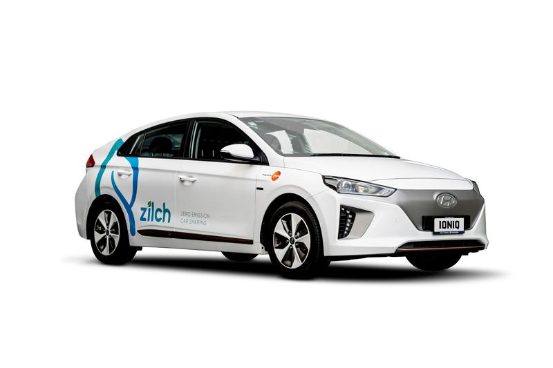 ZILCH Car Sharing Hyundai IONIQ