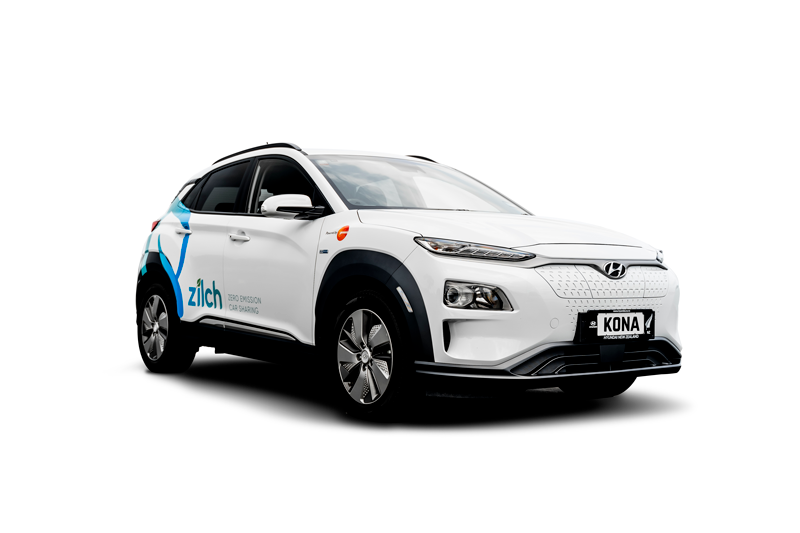 ZILCH Car Sharing Hyundai Kona